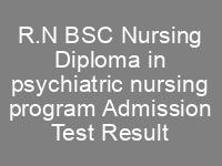 Sindh Karachi Admissions Directorate of Nursing 2020 NTS Test Result